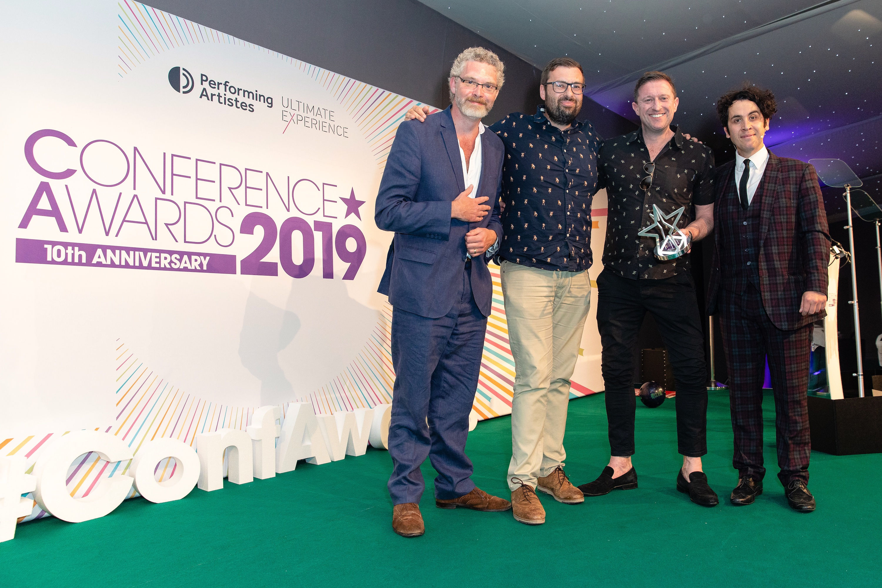MAD//Fest London Conference Awards 2019 Best Networking Event.