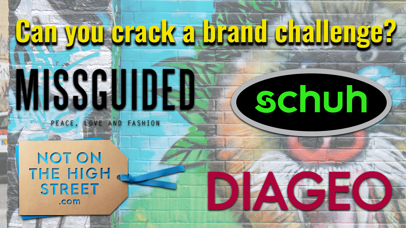 Missguided, Schuh, Diageo and Not On The High Street MAD//Picnic brand challenges.