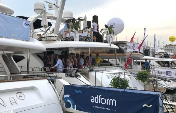 Cannes Lions yachts